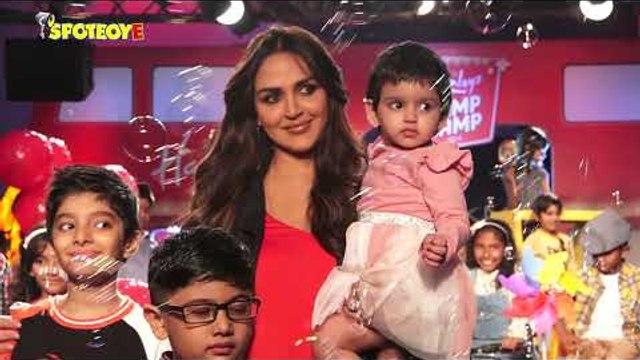 Esha Deol Walks the Ramp wit her Daughter Radhya at Lakme Fashion Week 2019 for Hamleys | SpotboyE