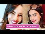Priyanka Chopra Hops On An India Bound Flight For The Sky Is Pink Promotions | SpotboyE