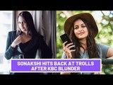 Sonakshi Sinha Has The Wittiest Reply To Trolls | SpotboyE