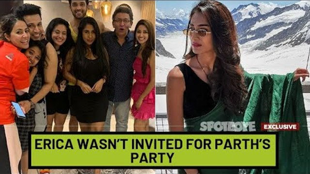 Erica Fernandes Wasn't Invited For Parth Samthaan's House-Warming Party?   TV   SpotboyE