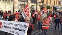 Avignon : près de 500 manifestants contre la réforme des retraites