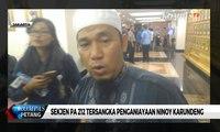 Sekjen PA 212, Bernard Abdul Jabbar Ditetapkan Jadi Tersangka Penganiayaan Ninoy Karundeng