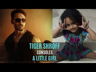 War: Tiger Shroff Consoles A 4-Year Old Girl Upset Over His Fight Sequence With Hrithik Roshan