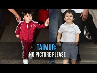 Taimur Ali Khan has learnt to say 'No Picture Please' reveals Saif Ali Khan | SpotboyE