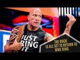 Dwayne Johnson AKA The Rock Is All Set To Return To The WWE Ring | Hollywood News