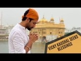 Vicky Kaushal Seeks Almighty's Blessings At The Golden Temple Before Shooting For Sardar Udham Singh