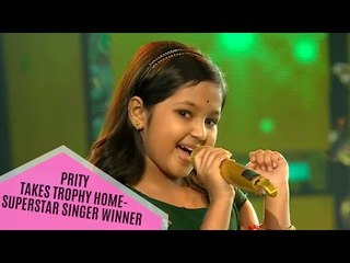 Superstar Singer Winner: 9-Year-Old Prity Bhattachrajee Takes The Trophy Home | TV | SpotboyE