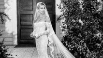 Découvrez la robe de mariage d'Hailey Bieber