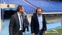 El Espanyol presenta a Pablo Machín como su nuevo entrenador
