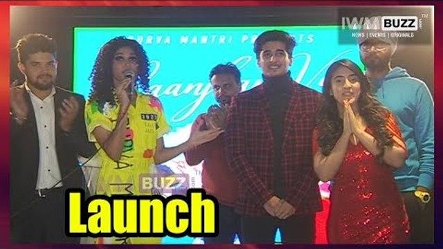 Raanjhana Ve song launch with Bhavin Bhanushali and Samikha Sood