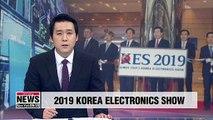 2019 Korea Electronics Show kicks off on sector's 60th anniversary