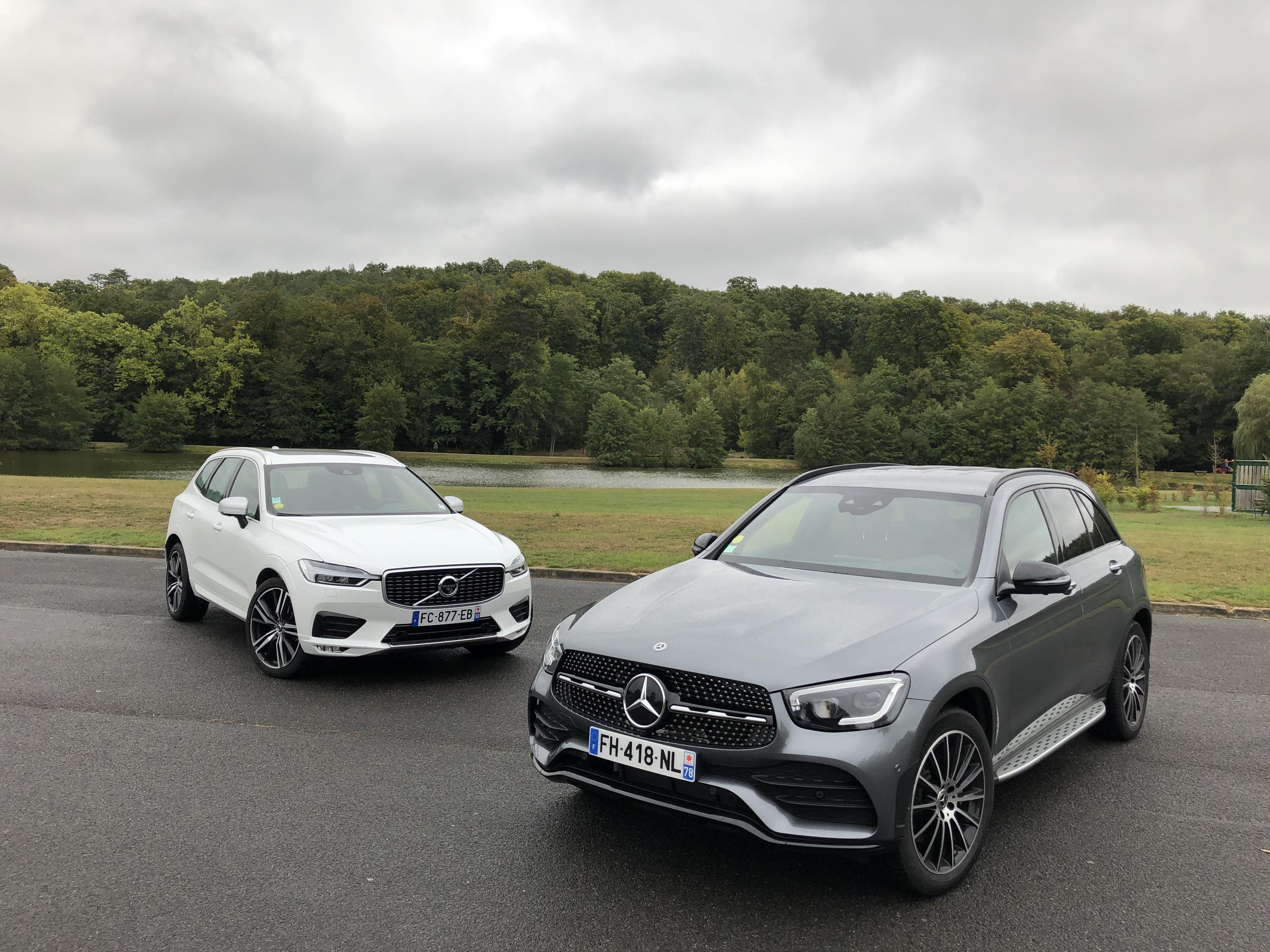 Comparatif - Mercedes GLC vs Volvo XC60