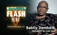 Interview Flash : Convoqué à la Préfecture de Police d'Abidjan, Babily Dembélé Président du CIDP parle...