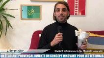 Un étudiant provençal invente un concept révolutionnaire pour les festivals