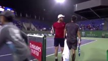 Tennis - The heated exchange between Andy Murray and Fabio Fognini in Rolex Masters Shanghai !