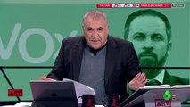 A cuerno quemado: Ferreras se cabrea como una mona porque Abascal salio vivo de la entrevista con Motos