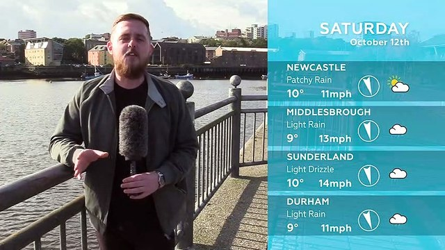 WEATHER: October 12th 2019