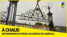 [A CHAUD] Restauration du portail et du mur de soubassement de la cour des communs du Château de Lunéville