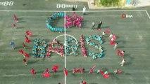 Miniklerden Mehmetçiğe 'Ay Yıldız ve Barış' Koreografisi ile Barış Pınarı Harekatına Destek Verdi ih