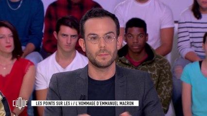Les points sur les i : L'hommage d'Emmanuel Macron à la préfécture de Paris - Clique - CANAL+