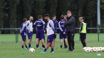 Anderlecht : premier entraînement avec Franky Vercauteren