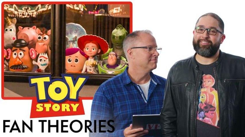 Toy Story Creators Break Down Fan Theories from Reddit
