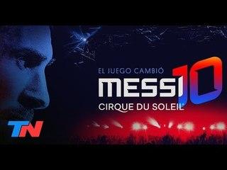 "Diego Poggi desde Barcelona nos anticipa ""Messi10"" de Cirque du Soleil"