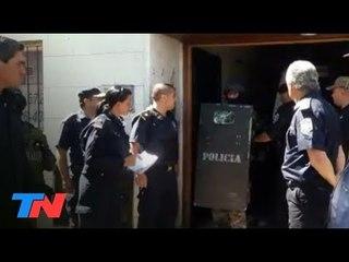 Toma de rehenes en un vivero de Rafael Calzada: 2 ladrones muertos