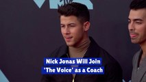 Nick Jonas And 'The Voice'