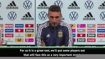 Scaloni to look to the future for Argentina's friendly against Germany