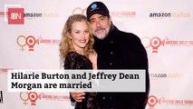 Jeffrey Dean Morgan Is Officially Married