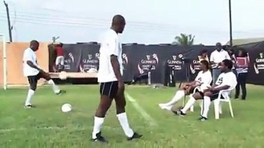 Okocha says calm down