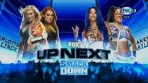 WWE SmackDown: Becky Lynch & Charlotte Flair vs. Sasha Banks & Bayley | Español Latino HD