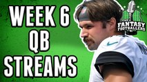 Fantasy Football 2019 - Week 6 Waiver Wire: QB Streamers