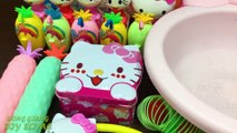 Hello Kitty Slime ! Mixing Mixing Random Things into Clear Slime | Satisfying Slime s #575