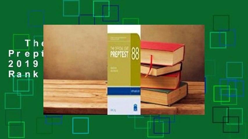 The Official LSAT Preptest 88: (september 2019 Lsat)  Best Sellers Rank : #3