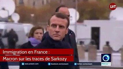 Macron sur les traces de Sarko