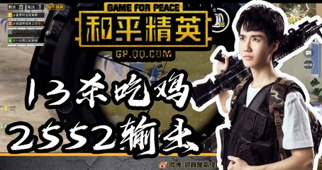 奇怪君和平精英:问一下,你们见过这么厉害的SLR么?13杀2552输出吃鸡Pubg Mobile/Game For Peace