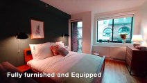 Furnished, Luxurious Studio| Full Service Doorman & Gym| Chelsea| W. 15th & 6th Ave