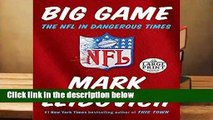 About For Books  Big Game: The NFL in Dangerous Times  Best Sellers Rank : #4