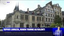 Depuis l'incendie de l'usine Lubrizol, Rouen tourne au ralenti