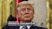 La Maison Blanche a informé cette nuit le Congrès qu'elle refusait de coopérer à l'enquête en cours en vue d'une éventuelle procédure de destitution visant Donald Trump