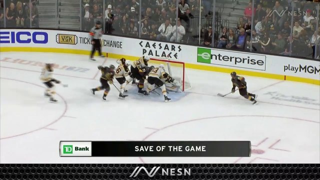 Tuukka Rask Makes Critical Save As Bruins Come Back To Defeat Golden Knights