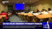 Faute de places dans l'Hexagone, les étudiants Français partent en Belgique
