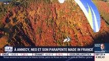 A Annecy, Neo et son parapente made in France - Julien Gagliardi - 09/10