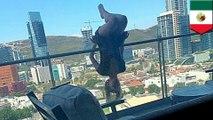 【危険行為】バルコニーでエクストリーム・ヨガ 23歳女性が6階から転落 - トモニュース