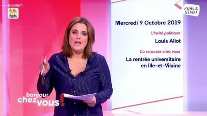Louis Aliot - Public Sénat mercredi 9 octobre 2019
