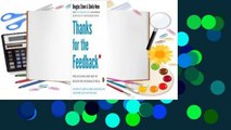 Full version  Thanks for the Feedback  The Science and Art of Receiving Feedback Well  For Free