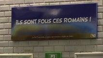 """""""Ils sont fous ces Romains!"""" Pour les 60 ans d'Astérix et Obélix, 12 stations de métro, dont """"Rome"""", ont été rebaptisées"""