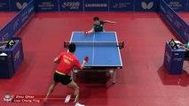 Zhou Qihao vs Liao Cheng Ting | 2019 ITTF German Open Highlights (Pre)
